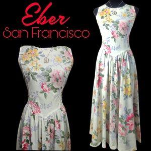 Vintage Eber San Francisco dress